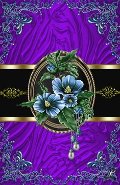 Purple and gold Bling Wallpaper, Flowery Wallpaper, Flower Background Wallpaper, Cute Patterns Wallpaper, Luxury Wallpaper, Cool Backgrounds Wallpapers, Flower Backgrounds, Pretty Wallpapers, Cellphone Wallpaper