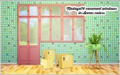 Madaya74′s Casement windows recolored at Lina Cherie • Sims 4 Updates