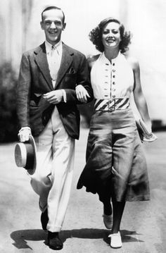 Fred  Astaire and Joan Crawford 1933 Los Angeles