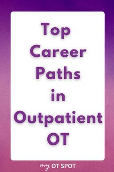 Thinking about working in outpatient occupational therapy? Here are the top OT specialties in both pediatric and adult-based outpatient therapy. Pediatric Occupational Therapy, Pediatric Ot, Activities Of Daily Living, Activities For Kids, Working In Mental Health, Top Careers, Hand Therapy, Autism Spectrum Disorder, Career Path