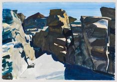Rocks, Edward Hopper, 1926