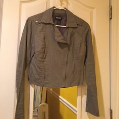 Jacket Cute jacket for going out, size S. Warn but Good condition :) Taxi Jackets & Coats