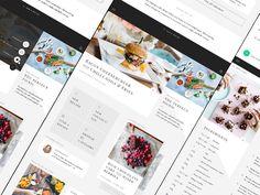 Luxe recipe app - Concept