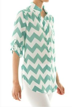 ALL AMERICAN GIRL Mint Chevron Stripe Tunic Shop Simply Me Boutique – Simply Me Boutique
