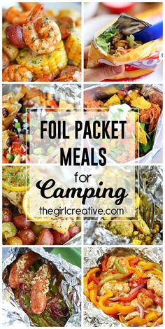 Try these delicious foil packet meals for camping on your next camping trip. Great ideas to change up your summer menu too! Foil Packet Meals, Foil Packets, Camping Essentials, Camping Hacks, Camping Checklist, Camping Supplies, Camping Foods, Camping Cooking, Camping Guide