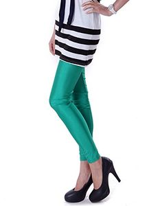 HDE Women's Shiny Solid Color Seamless Cool Stretch Leggings Great Seasonal Wear (Forest Green) HDE http://www.amazon.com/dp/B00BC3DRI6/ref=cm_sw_r_pi_dp_AOtVwb0G9MPX4