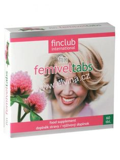 Finclub Fin Femiveltabs pro ženy po padesátce Finland, Avon
