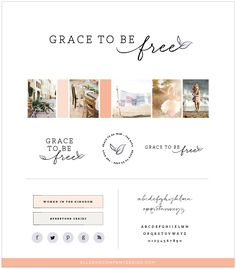 Branding for Grace to Be Free