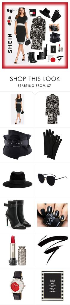 """""""Shein"""" by explorer-14673103603 on Polyvore featuring Tory Burch, Maison Michel, Off-White, Bertha and Kate Spade"""