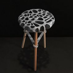 Download on cults3d.com #3Dprinting #Impression3D 3D Printed Stool, Adafruit