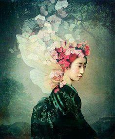 Catrin Welz-Stein ~ Madame Butterfly