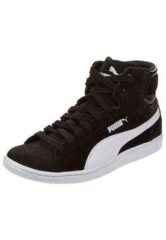 buy online bf32c 6efd4 Zapatilla Negra Puma Vikky Mid Wn s de Puma en Dafiti Me