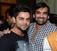VK and Zaheer Khan!