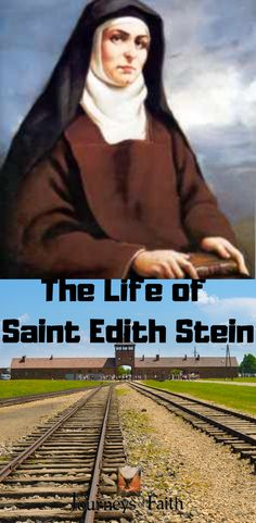 The Life of Saint Edith Stein Martyr of Auschwitz Catholic Saints, Roman Catholic, St Edith Stein, Lives Of The Saints, Best Sister, Holy Family, Before Us, The Life, Lord