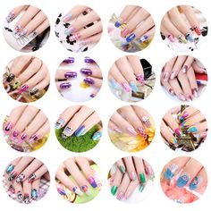 KISS COLOR 16PC New Image Plates Set Nail Polish Image Plates Stickers ** Visit the image link more details.