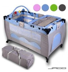 baby bed travel cot furniture cribs portable child bed with toys entryway months blue