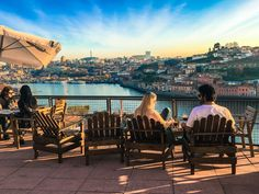 Taking in the view from Miradouro Ignez © Emily McAuliffe / Lonely Planet