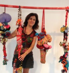 Marina Godoy / soft sculptures