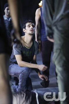 """The 100 -- """"The Other Side"""" -- Image HU411a_0076 -- Pictured: Devon Bostick as Jasper -- Credit: Bettina Strauss/The CW -- © 2017 The CW Network, LLC. All Rights Reservedpn"""
