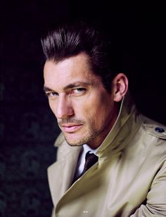 David Gandy Intrigues in SID #3 Cover Shoot by Leigh kelly