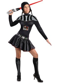 Ladies Darth Vader Costume, Star Wars Fancy Dress for Women - Star Wars Costumes at Escapade