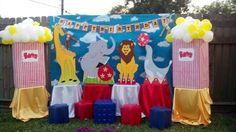circus theme decorations - Buscar con Google