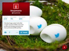50 Twitter Tips (4). Full presentation: https://www.slideshare.net/Socjomania/the-ultimate-guide-to-twitter-50-useful-tips  #Twitter #TwitterTips #SocialMedia #SocialMediaTips