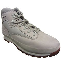Timberland Euro Hiker Light Grey Boot (13) * More info could be found at the image url.