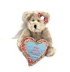 BOYD'S BEAR Hearts for GMa. Gift for Grandma brown by ADOPTIONSLtd