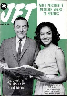 The weekly source of African American political and entertainment news. Jet Magazine, Black Magazine, Life Magazine, Ebony Magazine Cover, Magazine Covers, Arthur Godfrey, Black History Month Quotes, Goal Settings, Essence Magazine