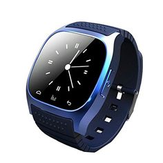 "Yimeixuan M26 Wireless Bluetooth Wrist Smart Watch Phone for Smart Phone Blue   Feature: This watch can be connected by bluetooth with smartphones, tablets and PCs. Features 1.48"" Capacitive Touch Screen TFT LCD Time/Date/Week/Battery s"