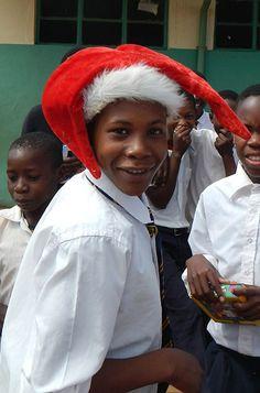 Obakeng Village School at Madikwe No Response, Winter Hats, Community, School, People, Collection, People Illustration, Folk