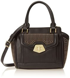 Women's Cross-Body Handbags - Nine West Trenleigh Collection Cross Body Bag Black Black One Size *** Click image to review more details.