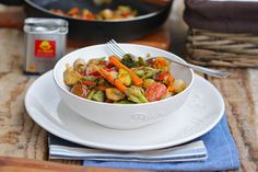 Vegetable Wok with La Chinata PREMIUM Smoked Paprika Powder / Wok de Verduras al Pimentón Ahumado PREMIUM La Chinata #smokedpaprikapowder #pimentónahumado #lachinatacom