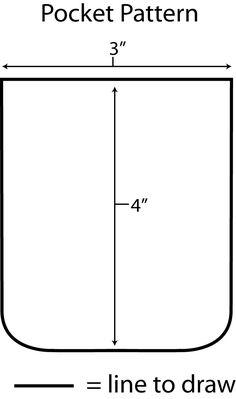 Légend image for pocket pattern printable