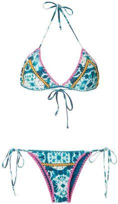 Cute Swimsuits, Blue Tie Dye, Bikini Set, String Bikinis, Women Wear, Beach Pics, Tropical Beaches, Mens Fashion, Bikinis