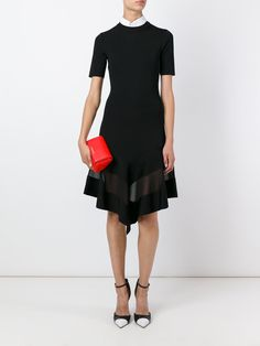 Givenchy sheer panel dress