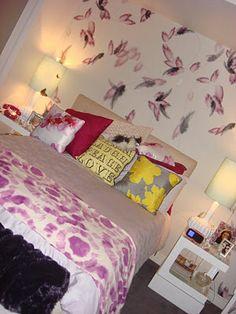 Schlafzimmer Inspiration Gossip Girl Serena Zimmer Wanddekoration  Schmetterlinge #bedroom #ideas | Wohnideen Fürs Schlafzimmer | Pinterest