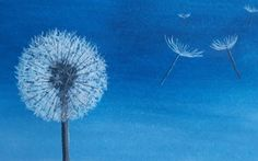 How To Paint A Dandelion: 10 Amazing and Easy Tutorials! Painting For Kids, Art For Kids, Art Children, Cool Diy Projects, Art Projects, Dandelion Painting, Good Tutorials, Laptop Wallpaper, Watercolour Tutorials