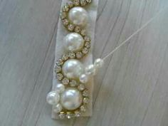 Top 20 gorgeous hand embroidery pearl work on fancy velvet winter dresses.- Top 20 gorgeous hand embroidery pearl work on fancy velvet winter dresses. Top 20 gorgeous hand embroidery pearl work on fancy… - Pearl Embroidery, Tambour Embroidery, Hand Embroidery, Embroidery Designs, Tambour Beading, Jewelry Patterns, Beading Patterns, Bracelet Patterns, Bead Crafts