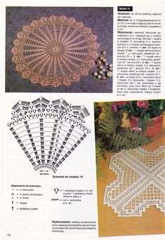 "Photo from album ""Robotki Reczne on Yandex. Crochet Doily Patterns, Tatting Patterns, Thread Crochet, Crochet Doilies, Crochet Lace, Crochet Stitches, Crochet Tablecloth, Needlework, Diy And Crafts"