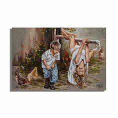 M19015 Jy is onderste bo! - House Of Maria ZA Redeeming Love, Young Love, Pigment Ink, Beautiful Artwork, Canvas Art Prints, Cotton Canvas, Boy Or Girl, Original Artwork, Africa