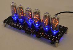 IN-8 Nixie Tube Clock with Tubes. TOP SELLER!! [IN8KIT] - £124.95 : Nixie Tube Clock Kits