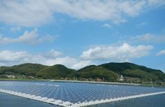 Solar Panels Floating on Water Will Power Japan's Homes  #Innovation #Japan #Sustainability