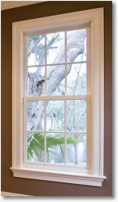 One simple way to choose interior window trim is to match it to the home's other molding, to ensure a cohesive look. #windowtrim