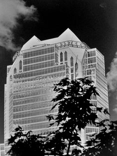 Cooperants Building,Montréal, Québec Photo by Richard Guimond ©1989