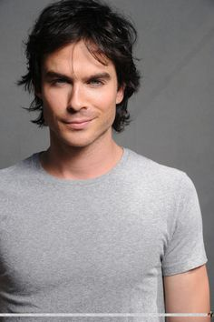 Ian Somerhalder...I was determined to not like the bad boy for once in my life..but he does the smirk and this weird eye thing and what can you do? lol