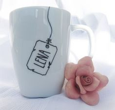 Design a Mug with Sharpies! Designing a mug with Sharpies is as fun as it is easy. What a great personalized gift for anyone!