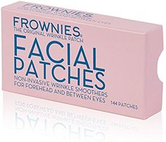 Amazon.com: Frownies Facial Pads, Use on Forehead and Between Eyes 144 ea: Health & Personal Care