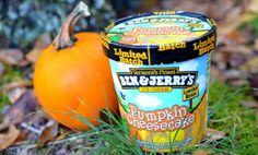 Ben & Jerry's Pumpkin Cheesecake - to cover off those fall cravings :)